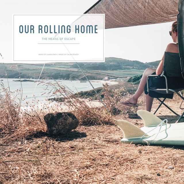 Issue 1 is almost complete! Read about Lauren & Calum and their 'Rolling Home' #VW #traveller #campvibes