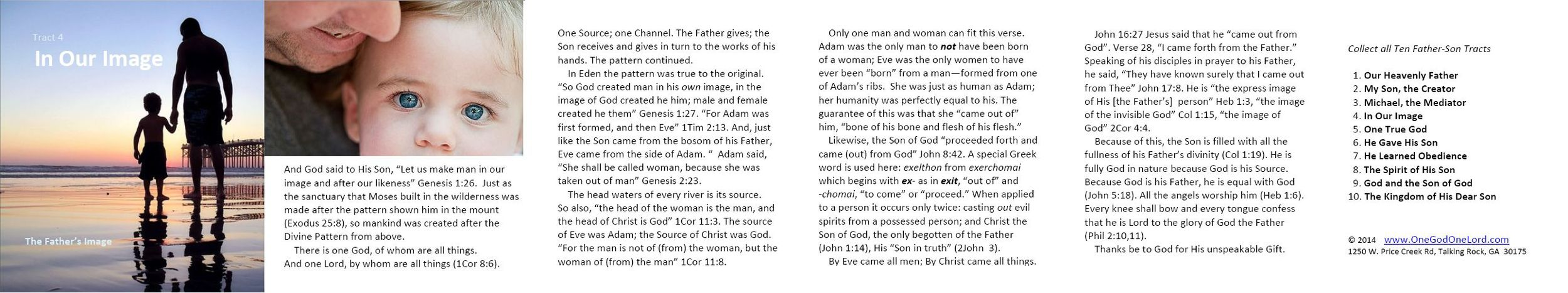 Tract 4 - In Our Image