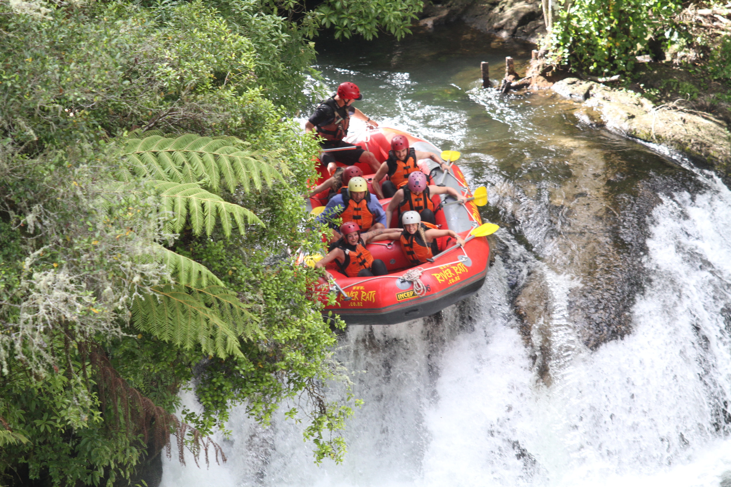 Rafting on the Kaituna River