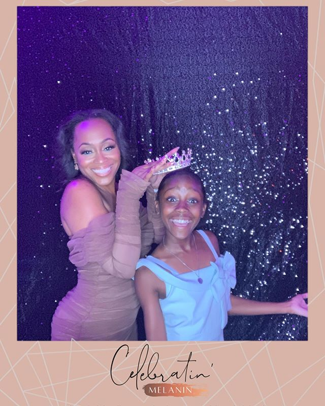 About last night... formal post coming soon but, last night... last night. 😭😭😭🙌🏾🙌🏾🙌🏾🙌🏾 this little girl is 1/3 of my why. She is amazing, loving and a force to be reckoned with. If you were in the room and had an opportunity to meet her or if younger met her before, you know what I'm talking about. So blessed!  @lafgoeson you and i have been blessed with 2 AMAZING gems to steward over. Love you @kendyllnichole & Jalen thanks @aluxephotoboothco loved this booth and all the amazing props. Makeup by my spirit sister @glam_qui love you boo! @celebratinmelanin #celebratemelanin