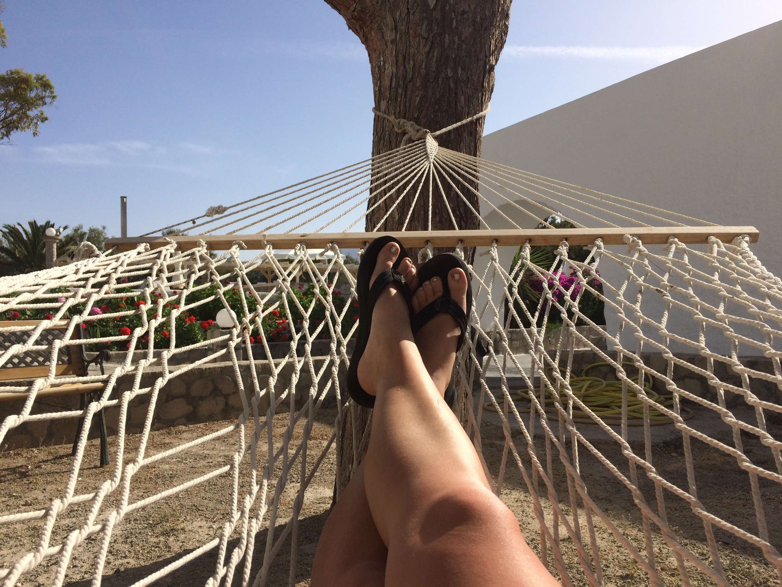 Hammocks find me in life. They just do.
