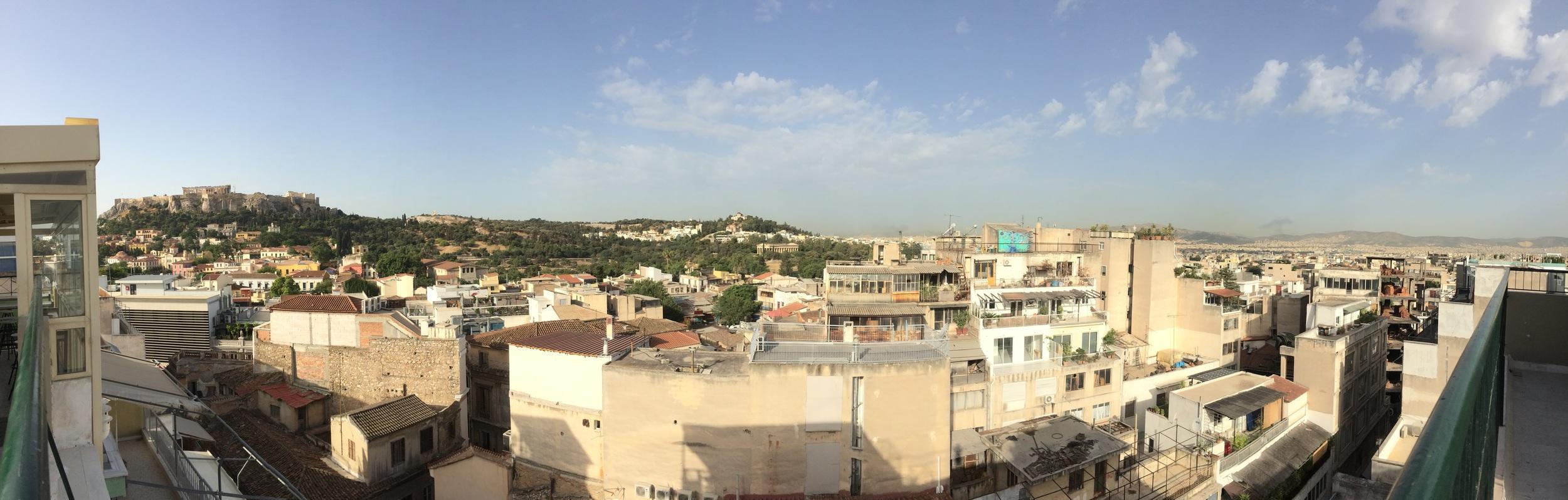 View of Athens/Acropolis