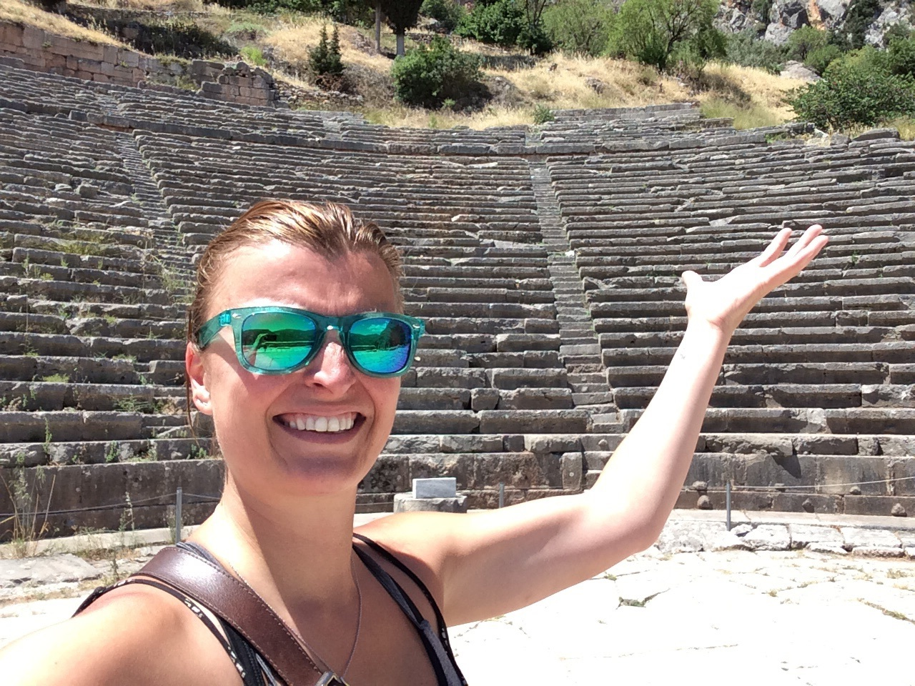 Some really cool girl at the Delphi theater