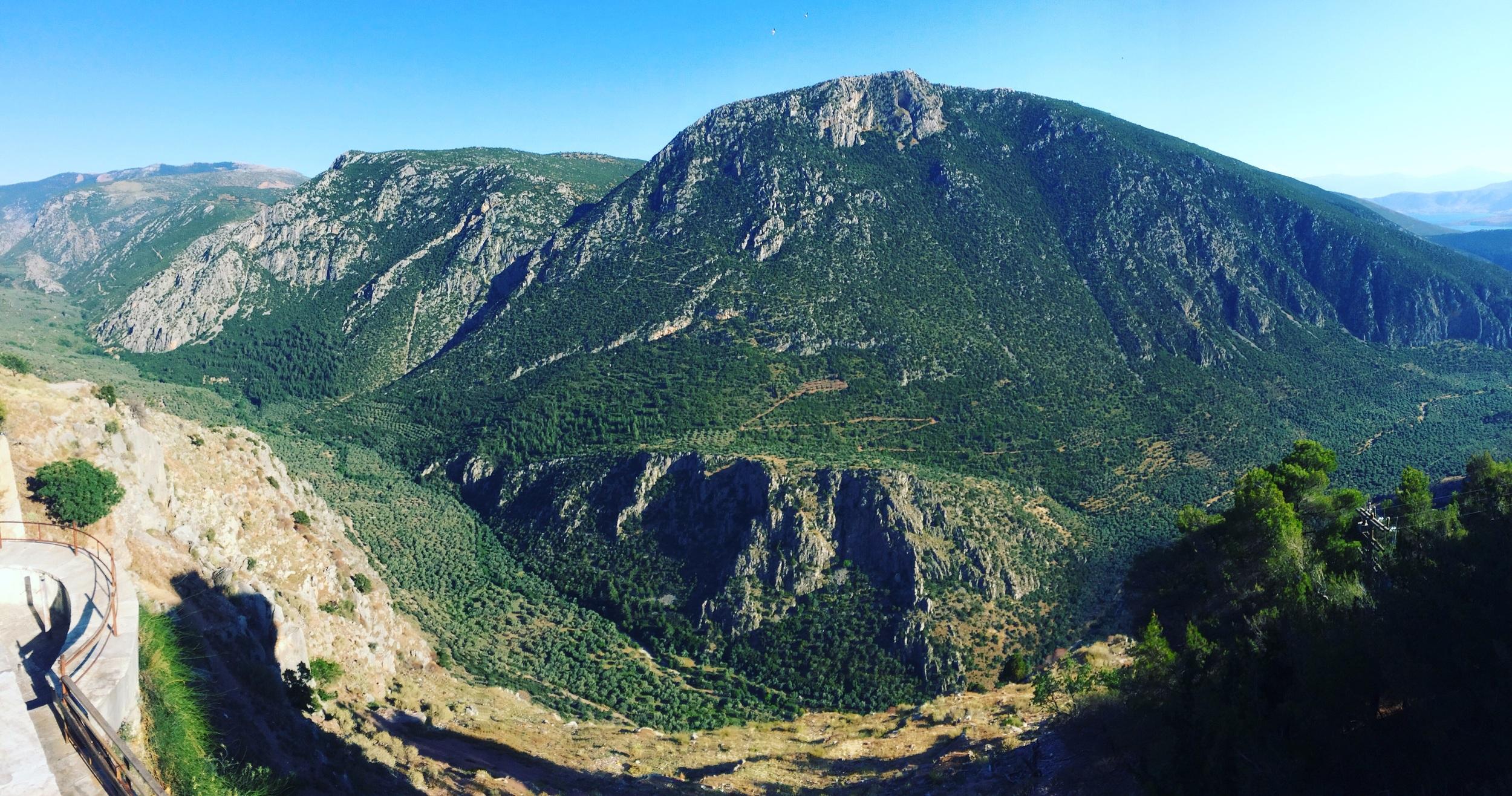 Overlook at Delphi.