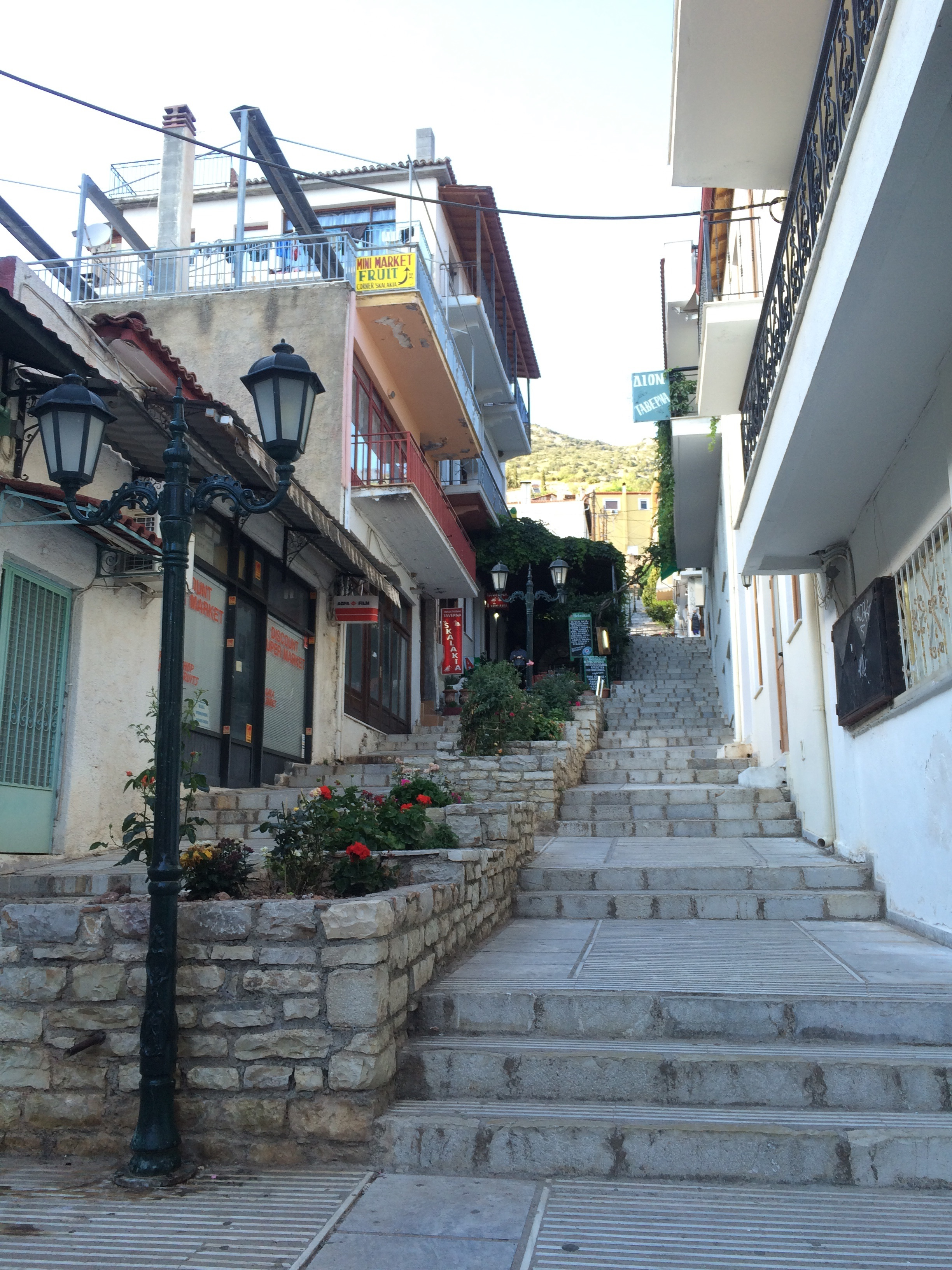 Street in Delphi
