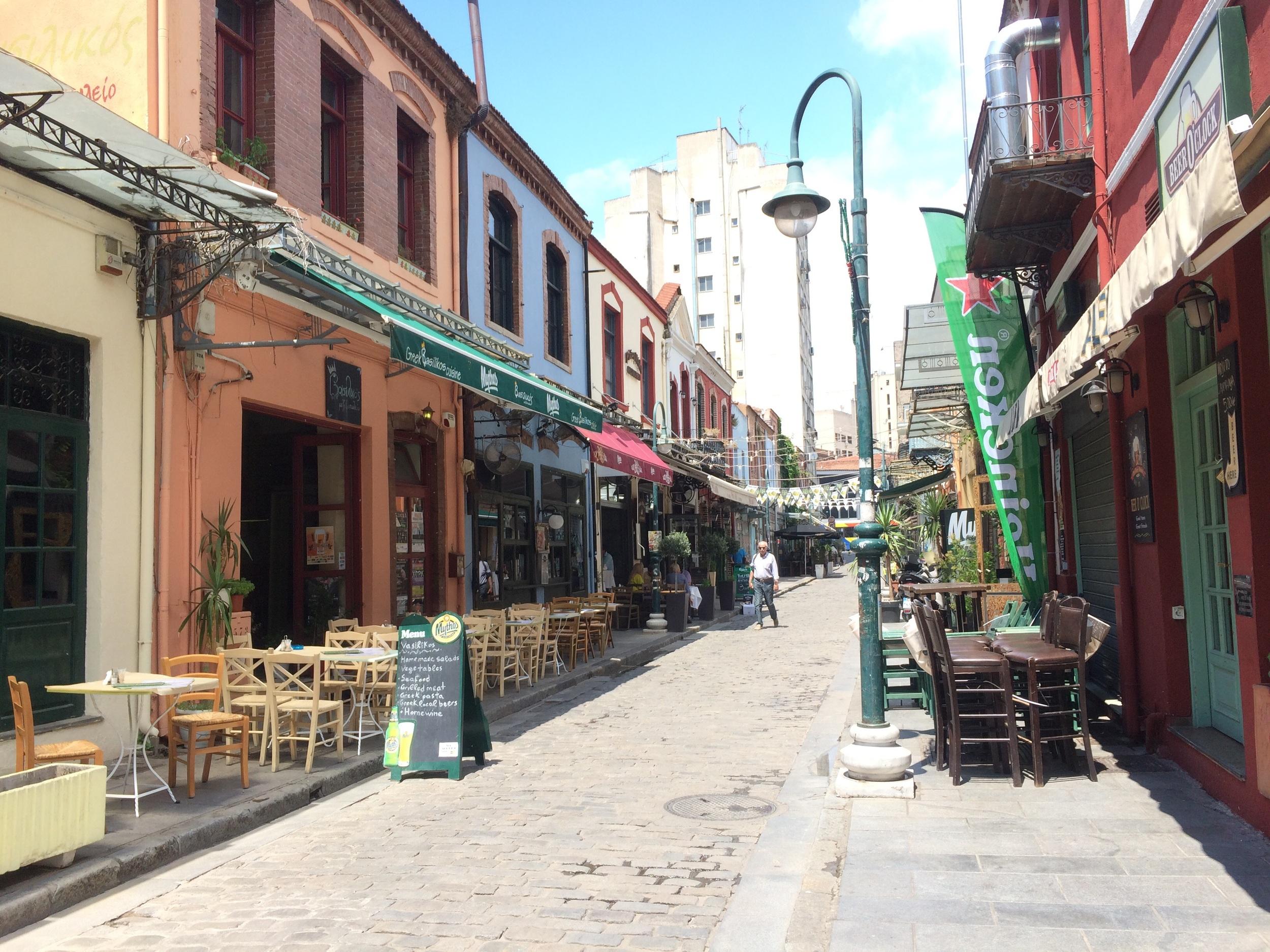 Ladadika, Thessaloniki