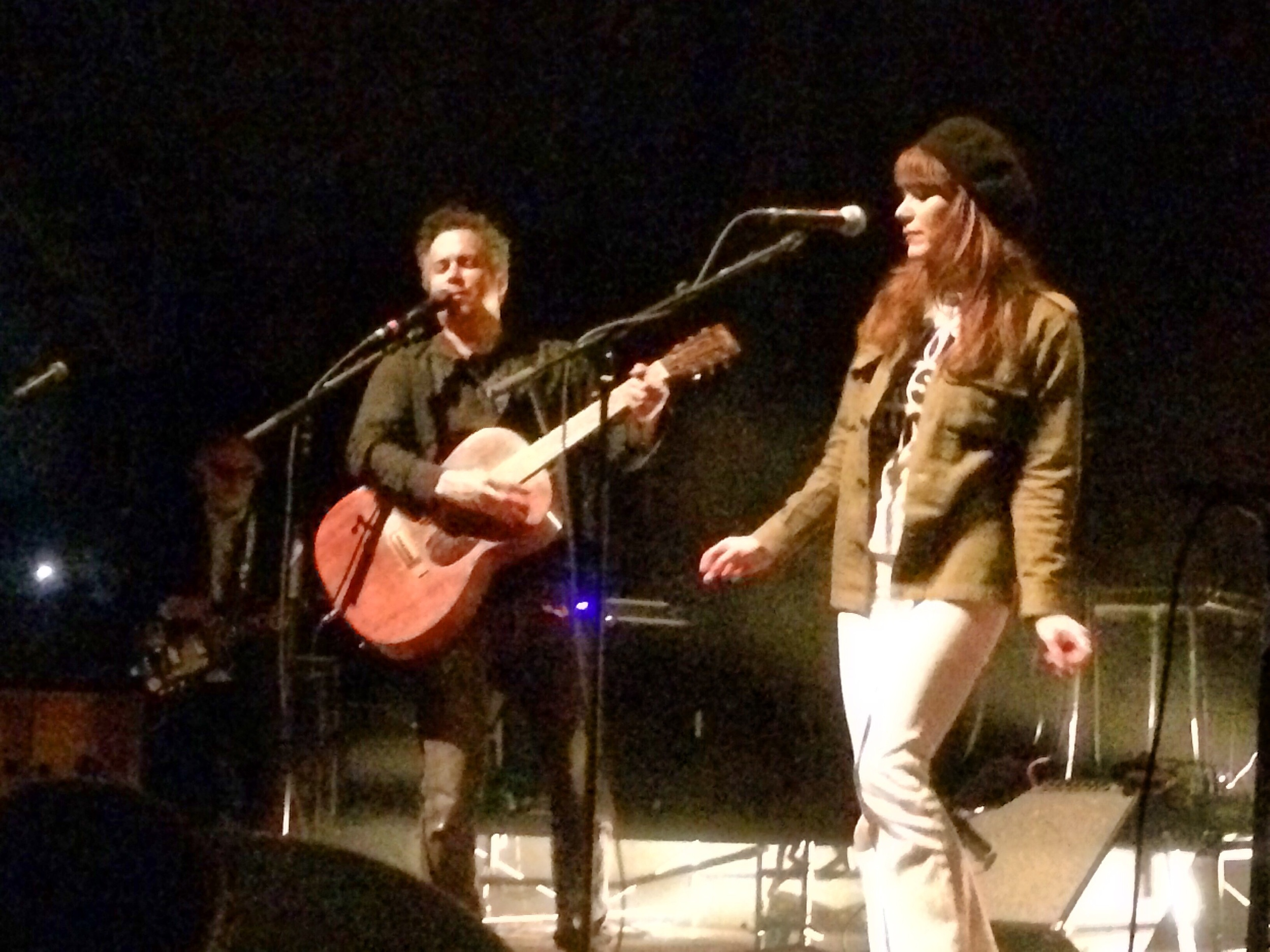 M. Ward and Jenny Lewis at Thalia Hall.