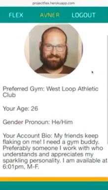 Create a profile!