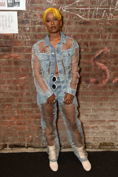 Dej Loaf at Blonds #NYFW Show in 2016
