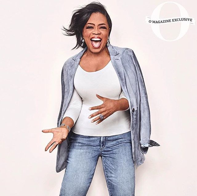 Slim thick with yo cute ass! 😛 @oprah for @oprahmagazine ✨#oprah #wce #wcw
