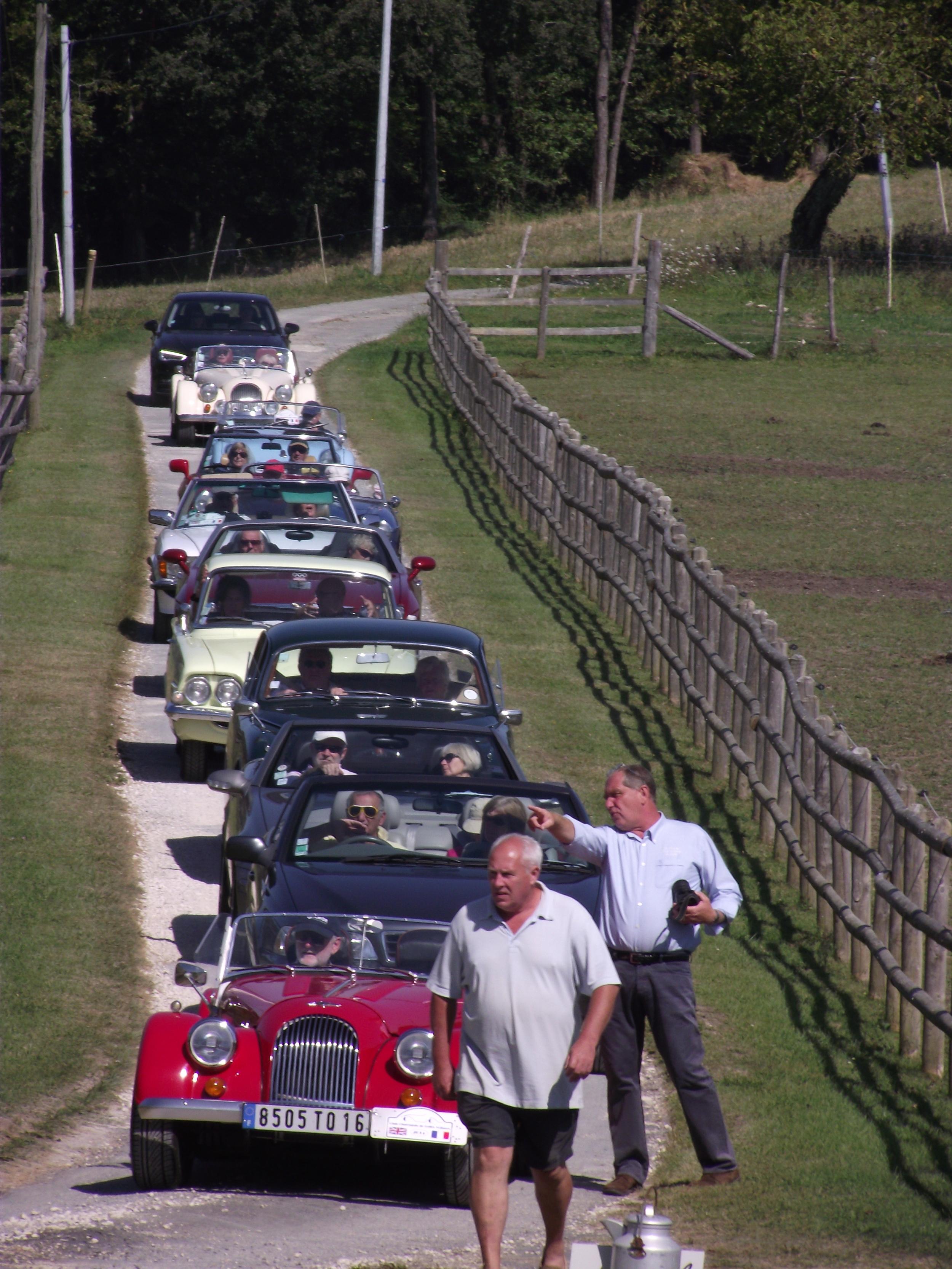cars arriving 11th Sept 2014.JPG