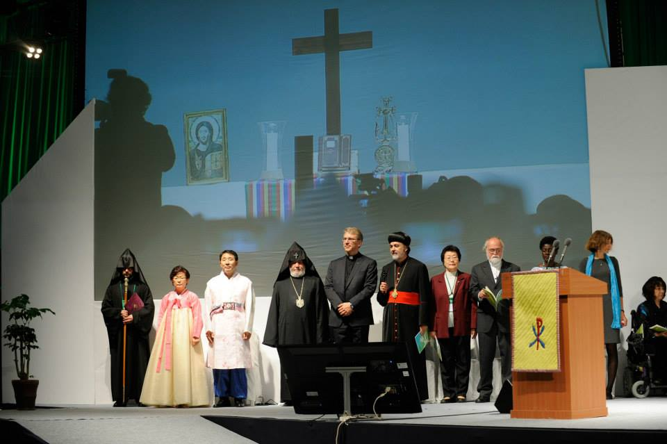 Photo from the World Council of Churches 10th Assembly