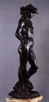 Bronze Statue of David by Donatello