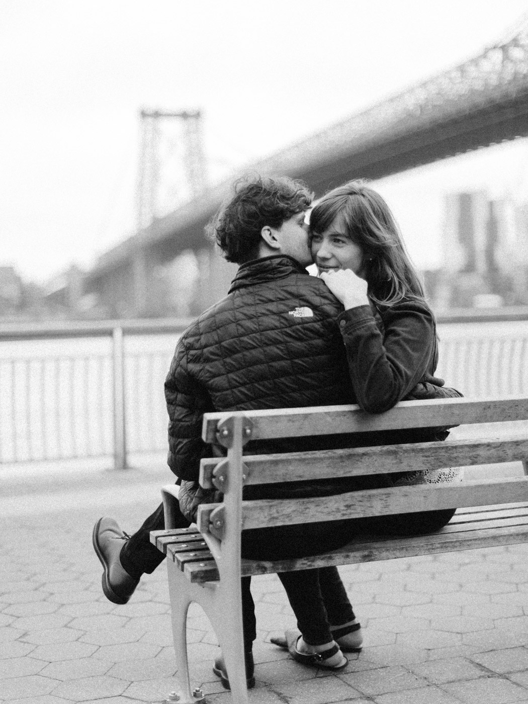 East Village Engagement Photographs