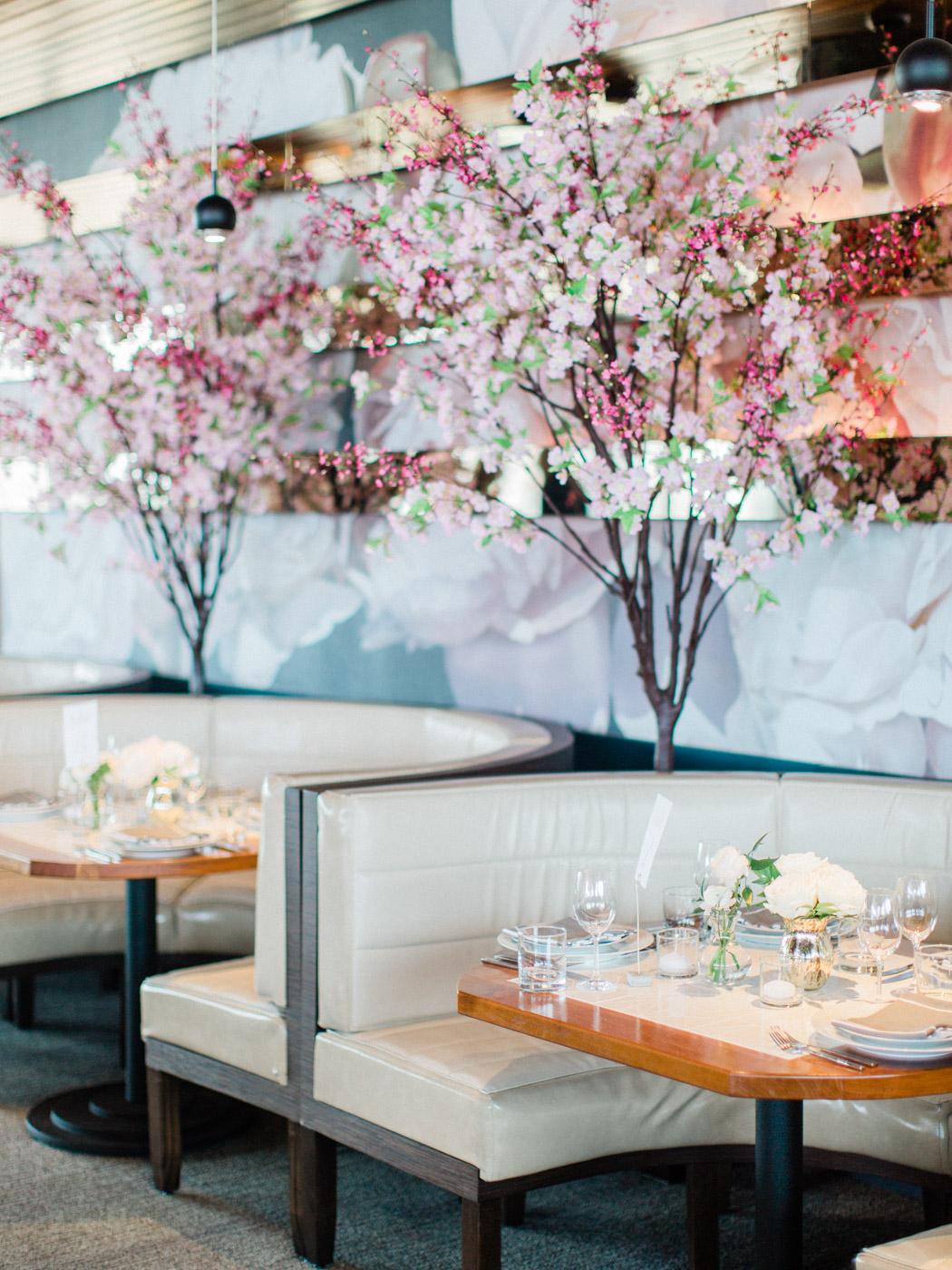 -Vogue inspired fine art wedding details at Lavelle Restaurant, downtown toronto.  Captured by Toronto wedding photographer Corynn Fowler Photography.