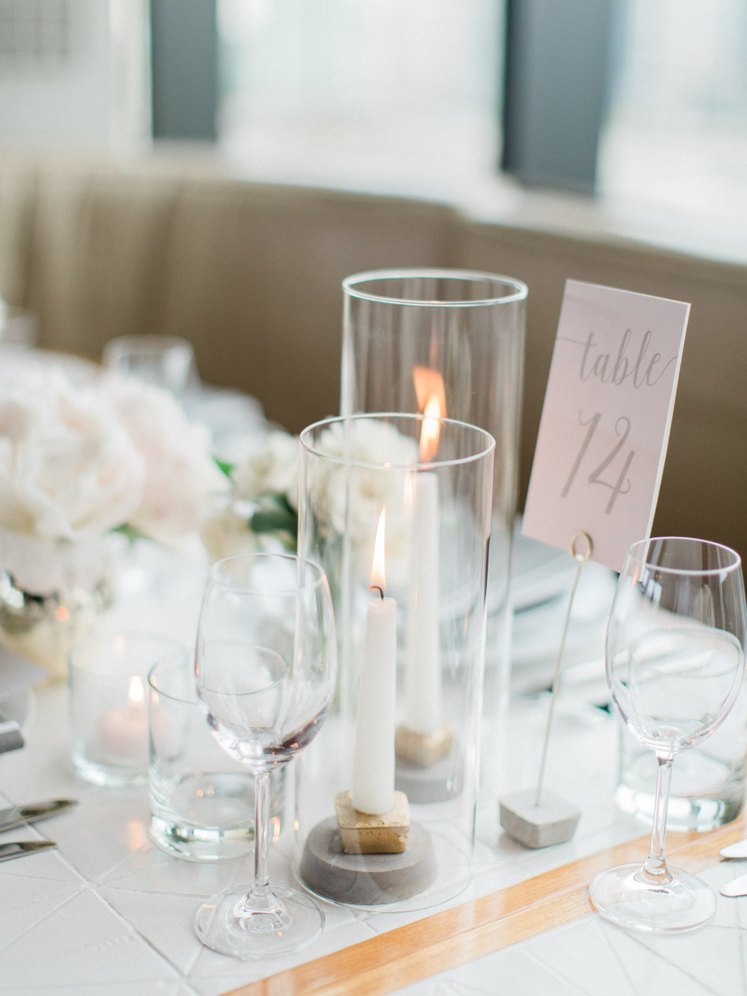 -	Vogue inspired fine art wedding details at Lavelle Restaurant, downtown toronto.  Captured by Toronto wedding photographer Corynn Fowler Photography.