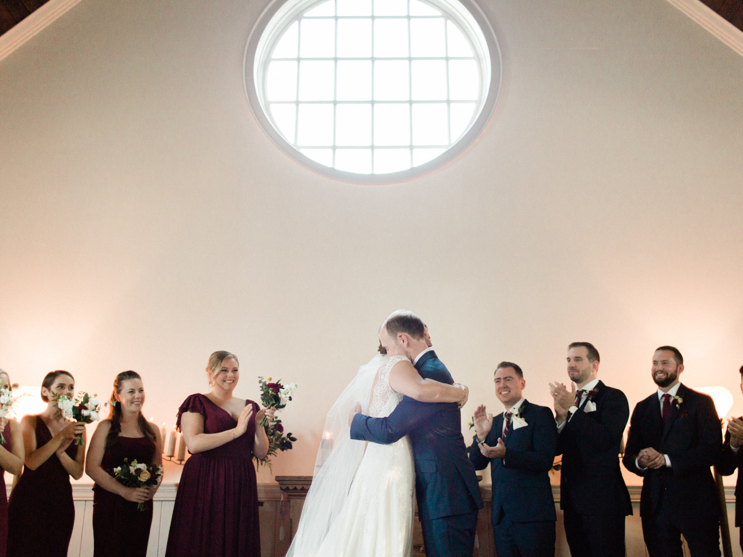 colourful summer wedding at the doctors house