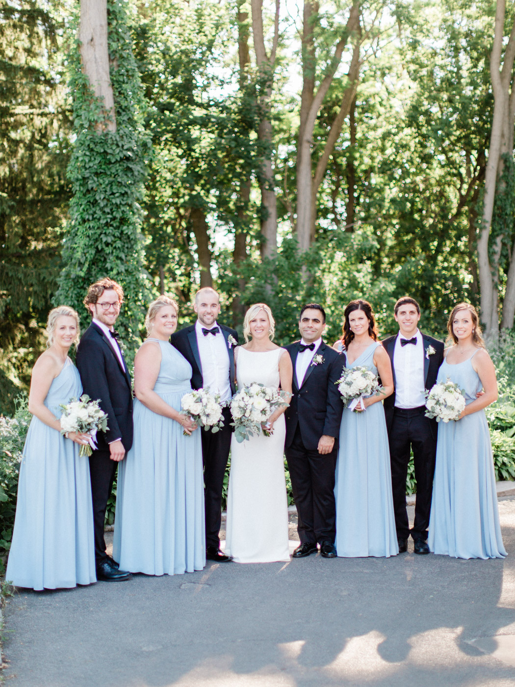 Photographs from an elegant yet relaxed summer wedding at The Thornhill Golf and Country Club, by Toronto Wedding Photographer Corynn Fowler Photography