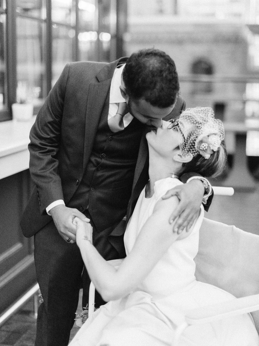 An intimate restaurant wedding in downtown Toronto at The Chase by Toronto Wedding Photographer Corynn Fowler Photography