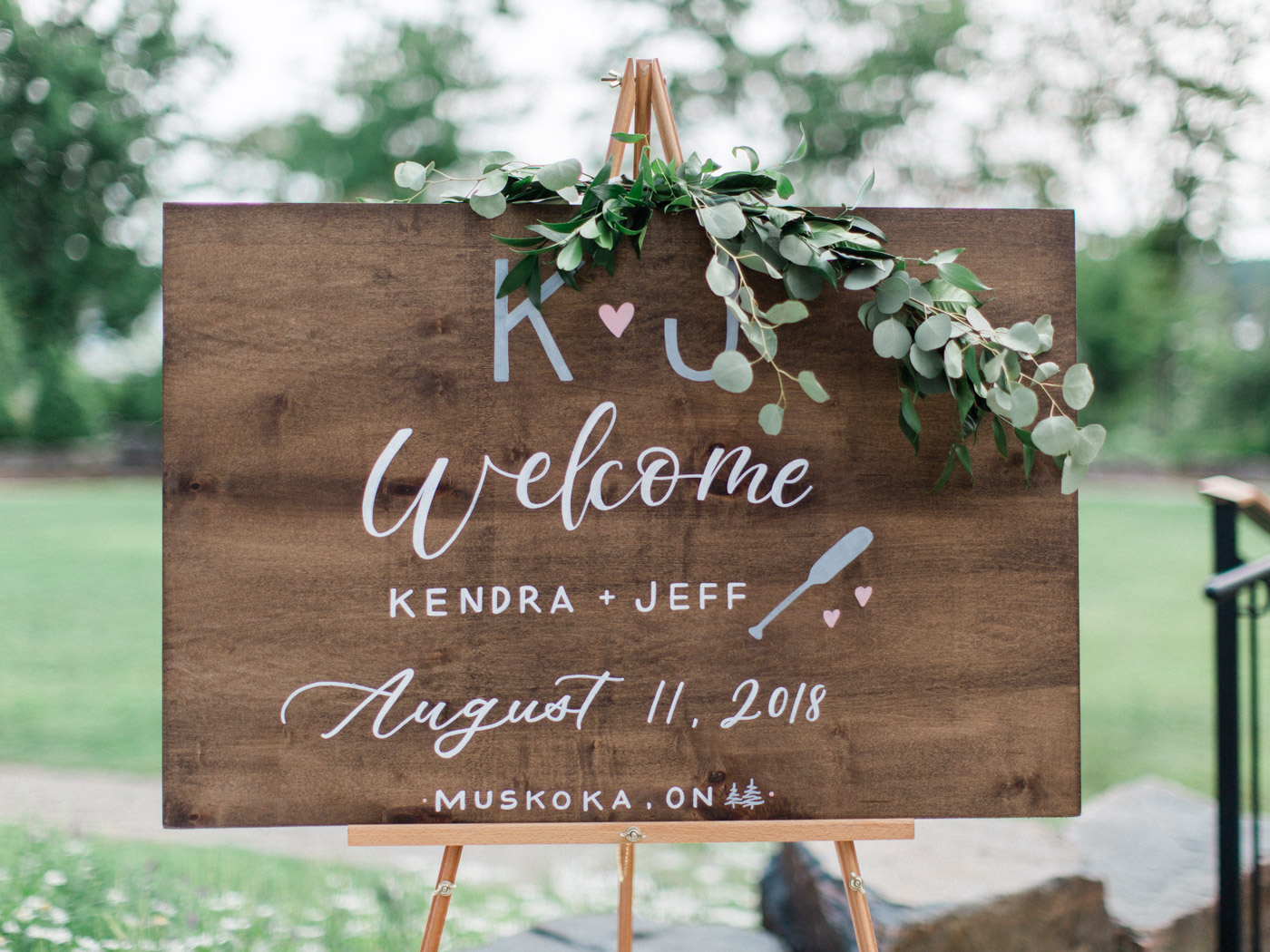 Fine art details at cottage inspired wedding at J.W. Marriott Rosseau, Muskoka.  Captured by Muskoka wedding photographer Corynn Fowler Photography.
