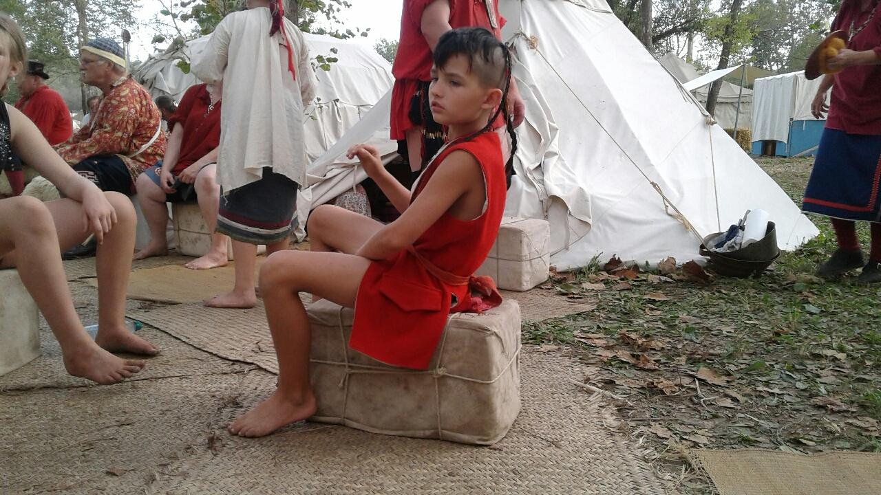 Tenzin's friend Tecumseh