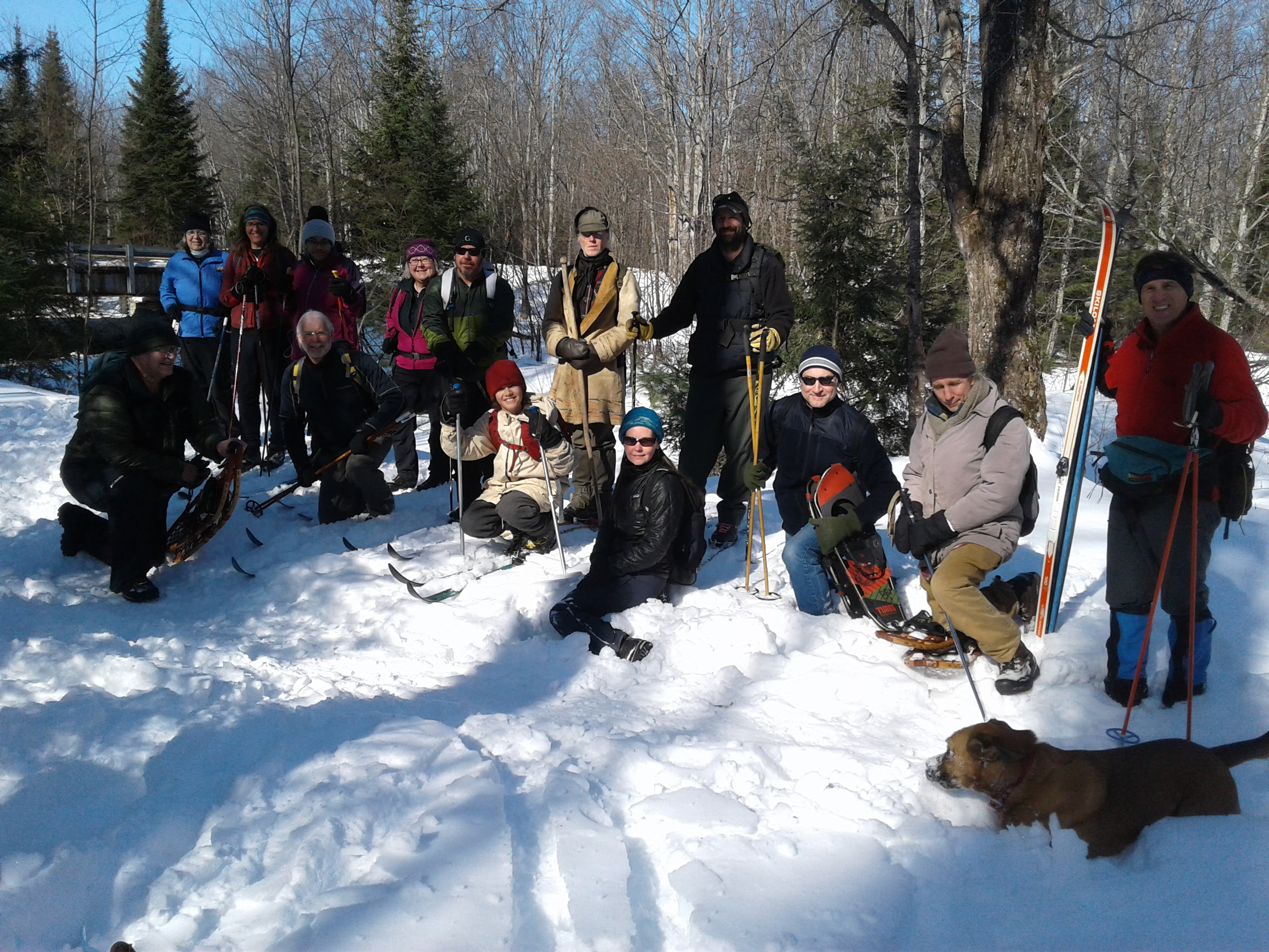 The Yellow Dog Watershed ski trip