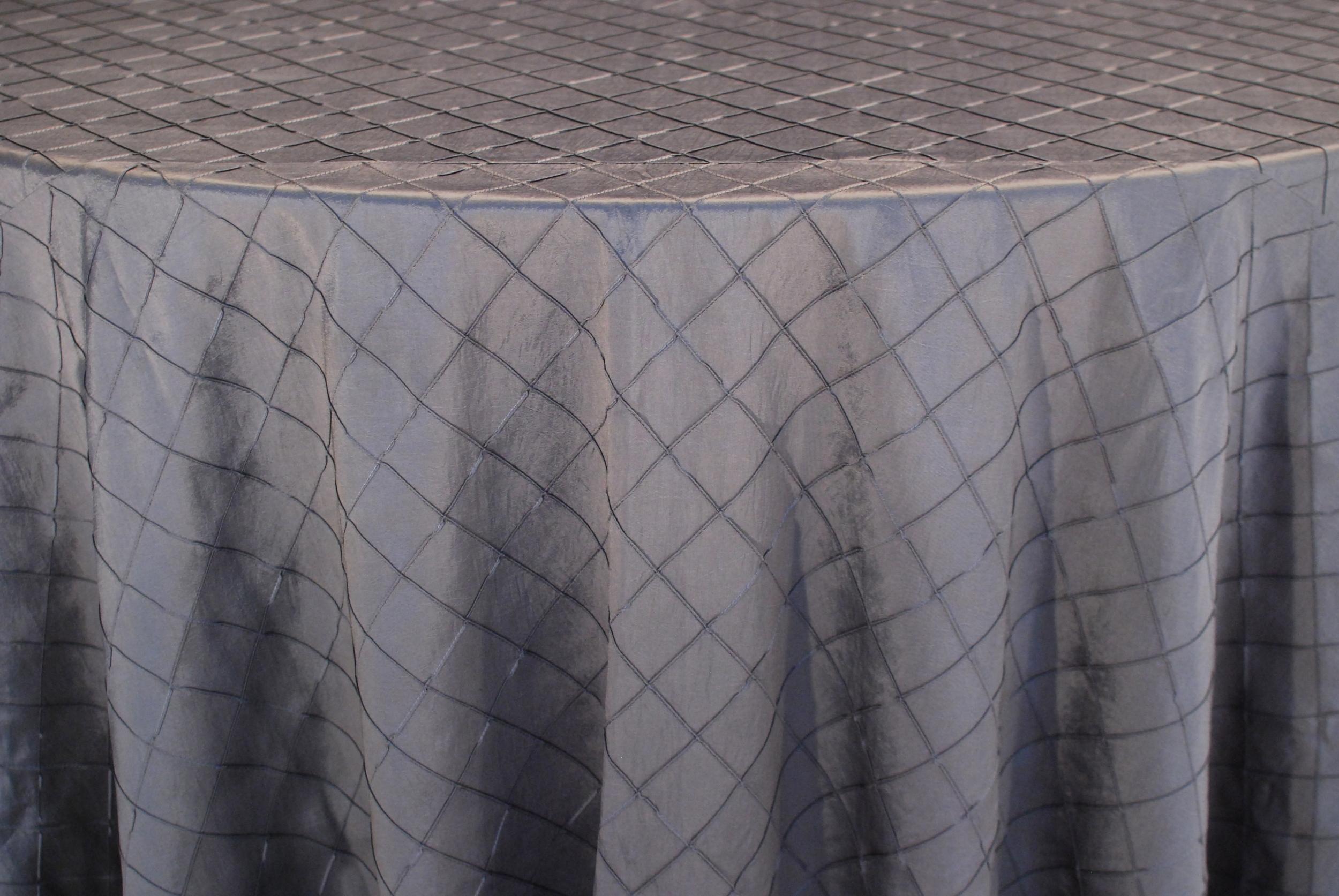 Pintuck - Charcoal Gray