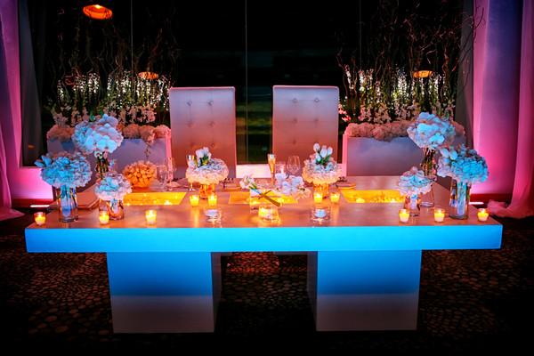 White Couple's Table