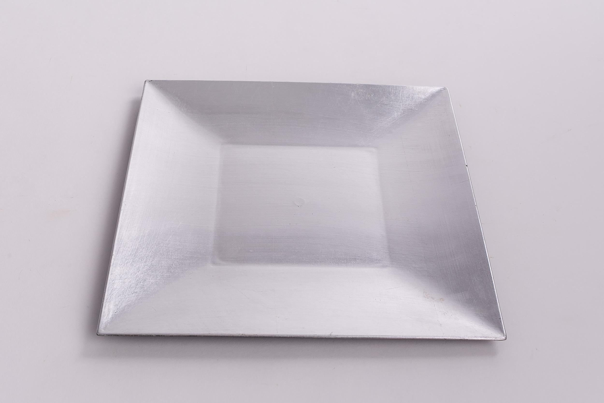 Square Classic Design - Silver