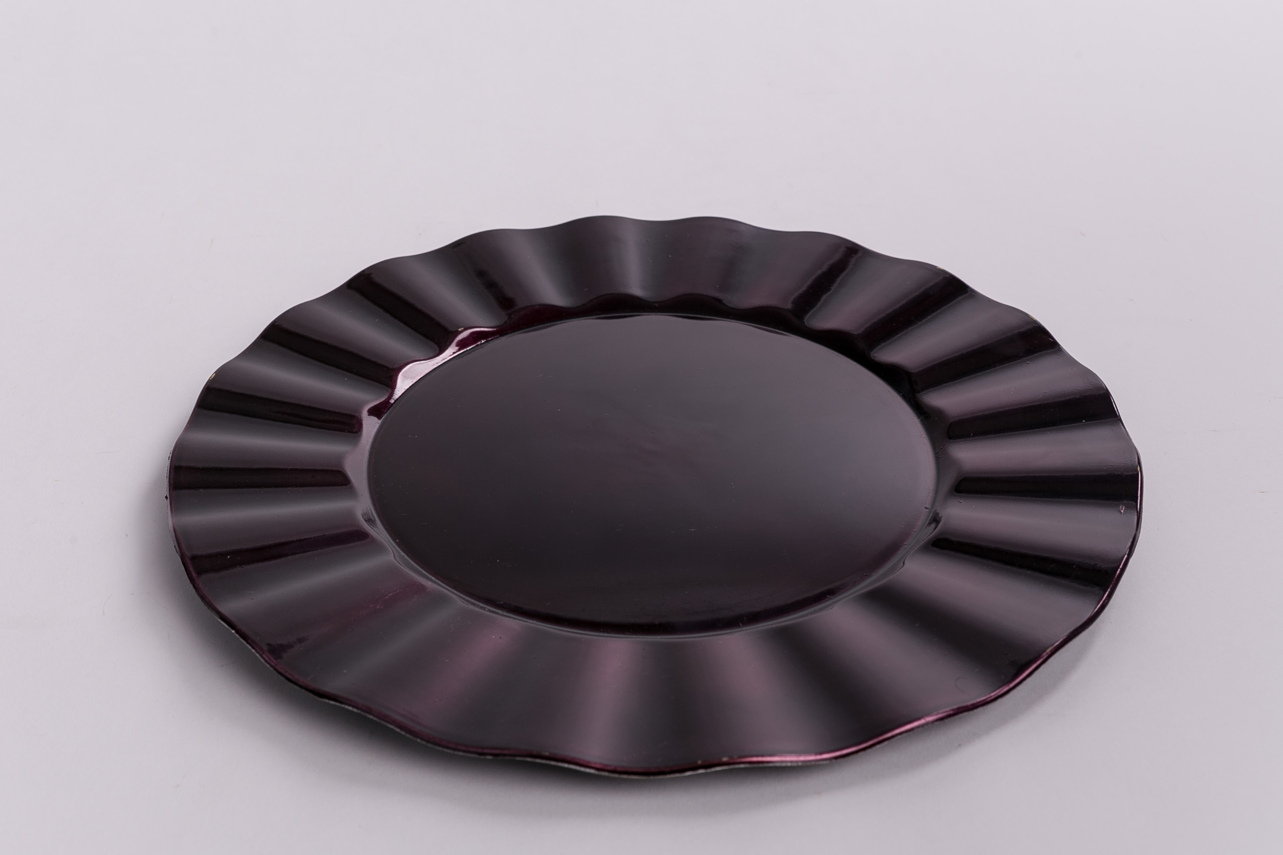 Ruffle Design - Plum