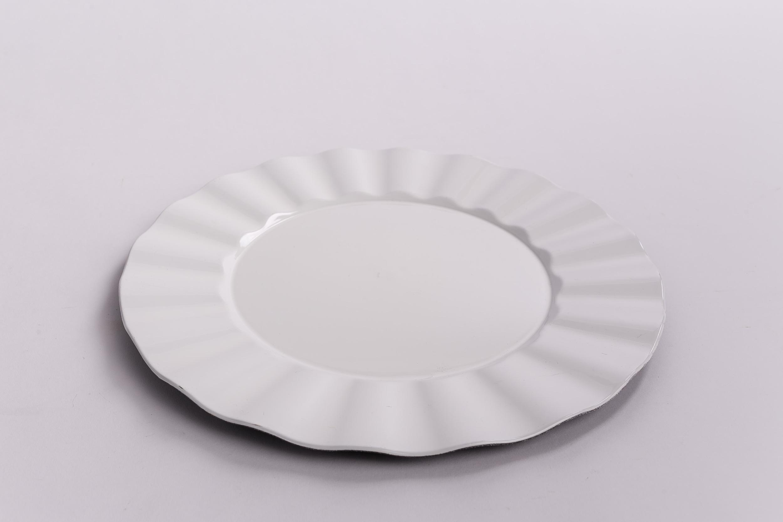 Ruffle Design - White