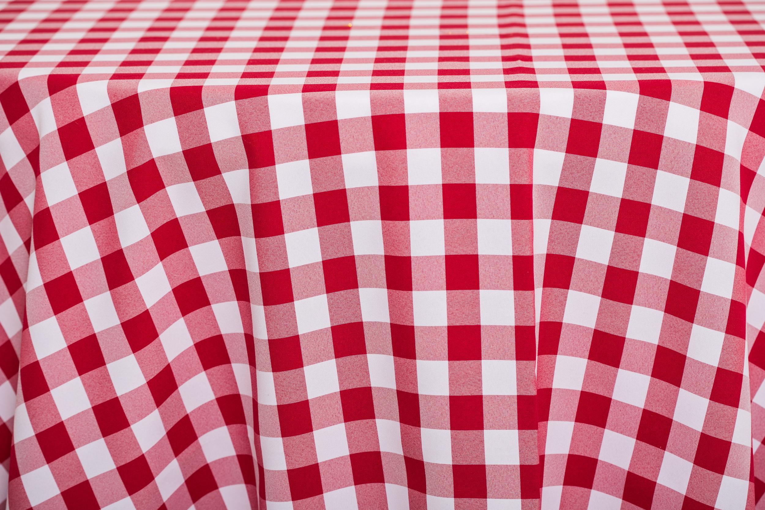 Checkered - Red/White