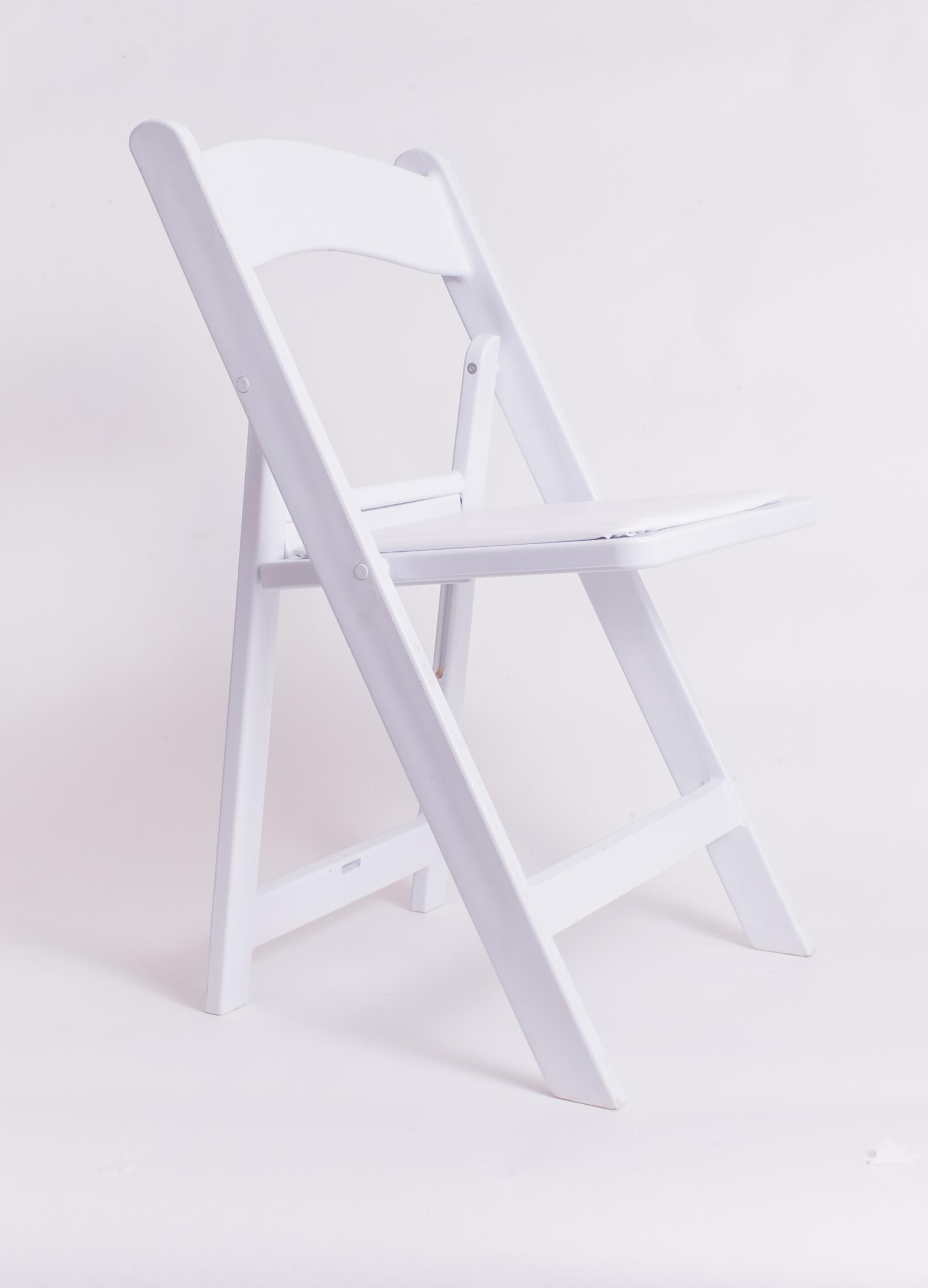 Garden Chair - White