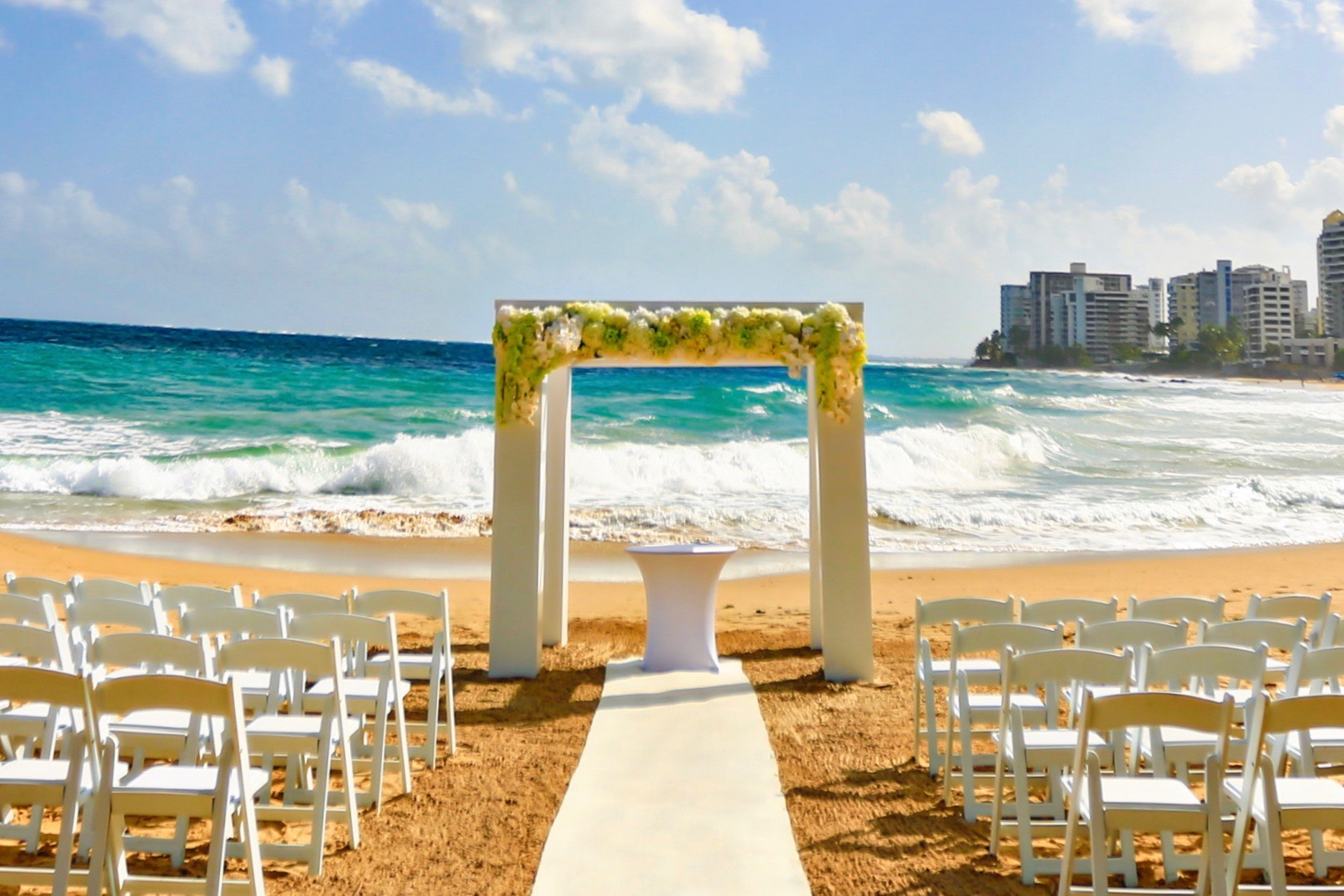 The beautiful beaches of Puerto Rico are the perfect venue for a Destination Wedding.   Contact us   to learn how we can help make your event a memorable one!
