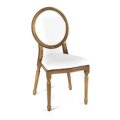 Louis XV Chair - White Cushion Set
