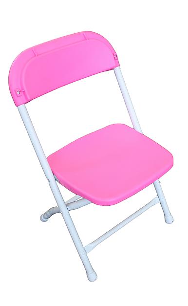 Kid's Folding Chair - Pink