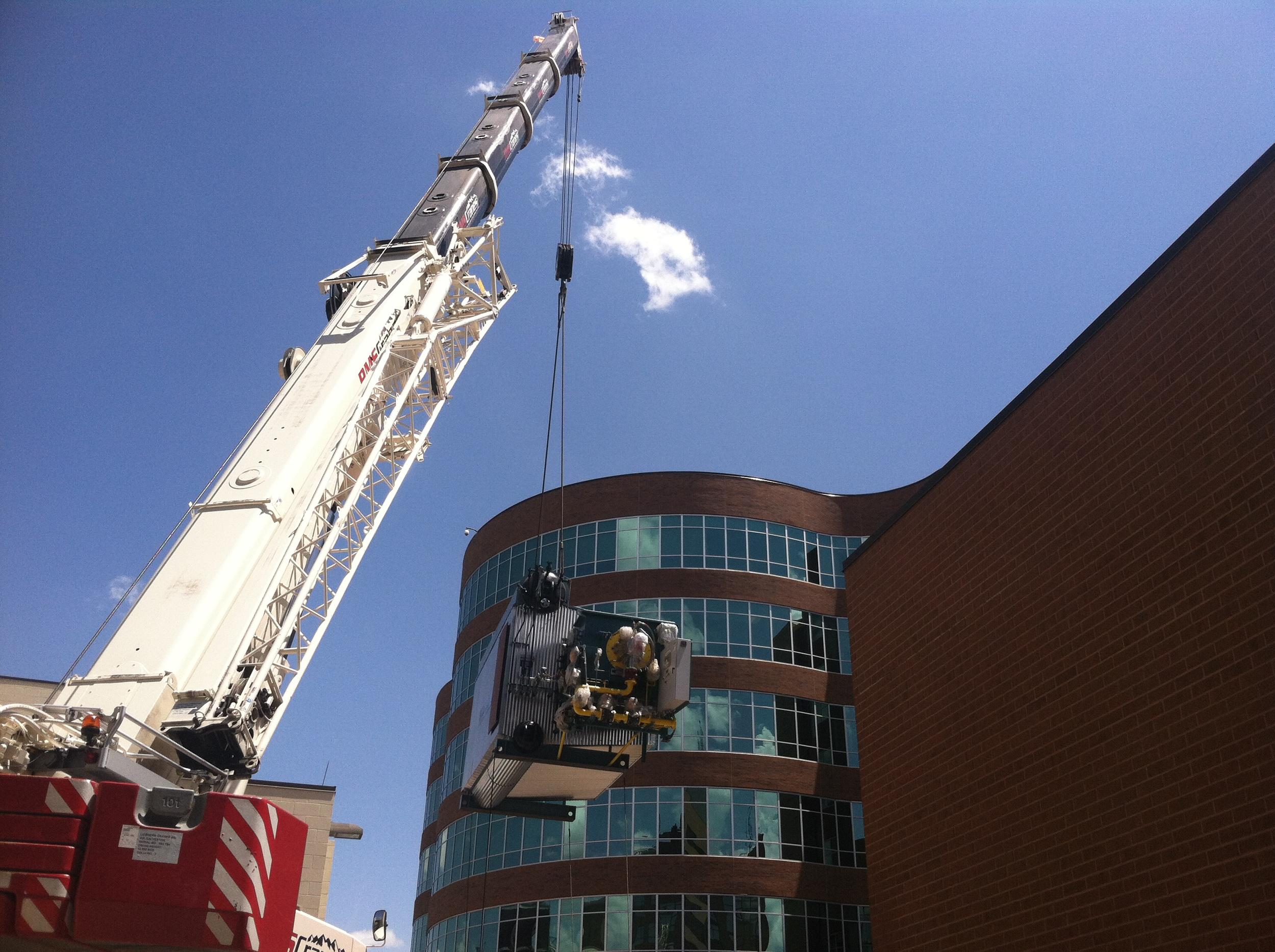 Memorial Hospital Campus Boiler Replacement