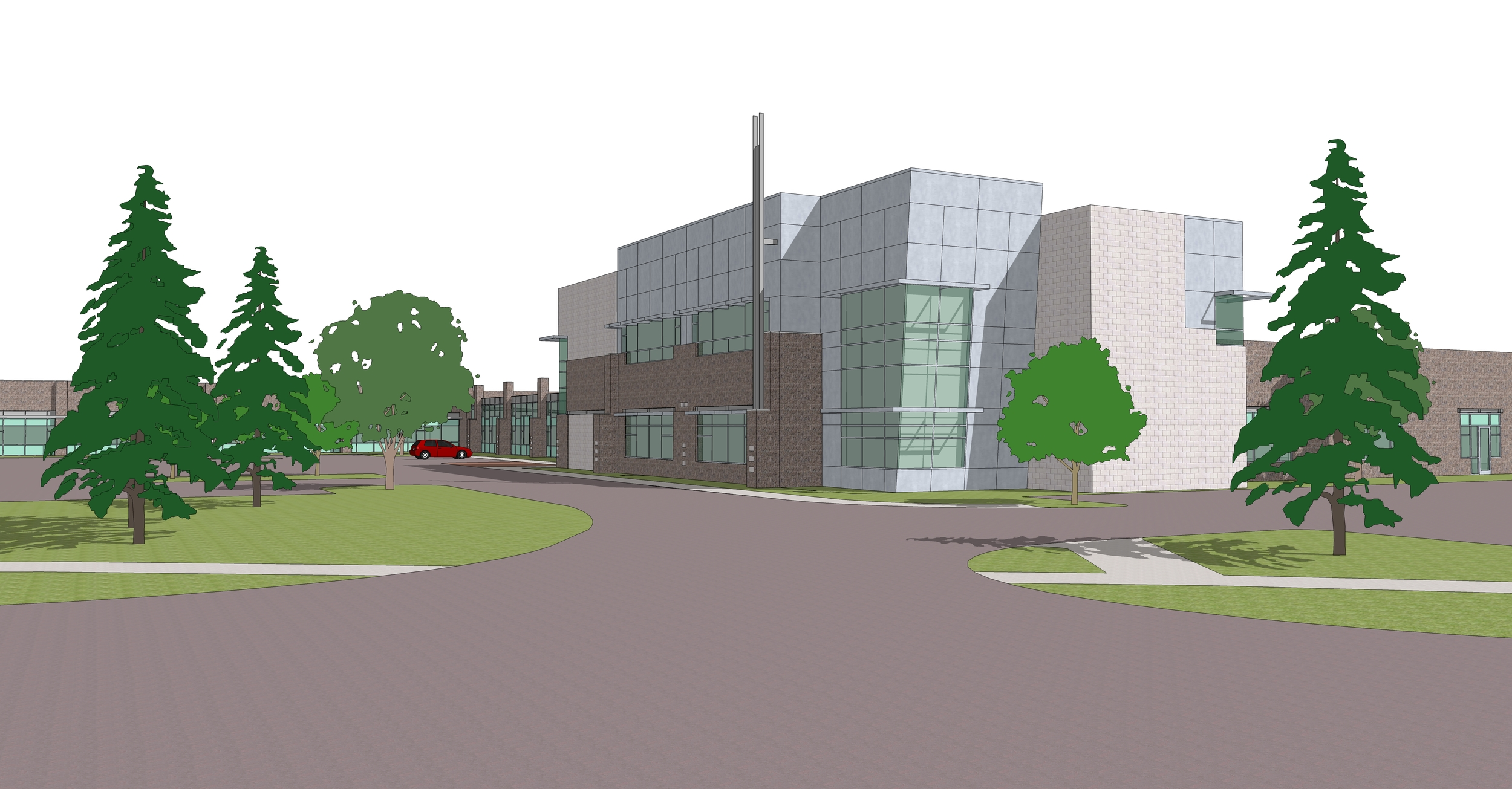 AlloSource Proposed New Addition - In Progress2014