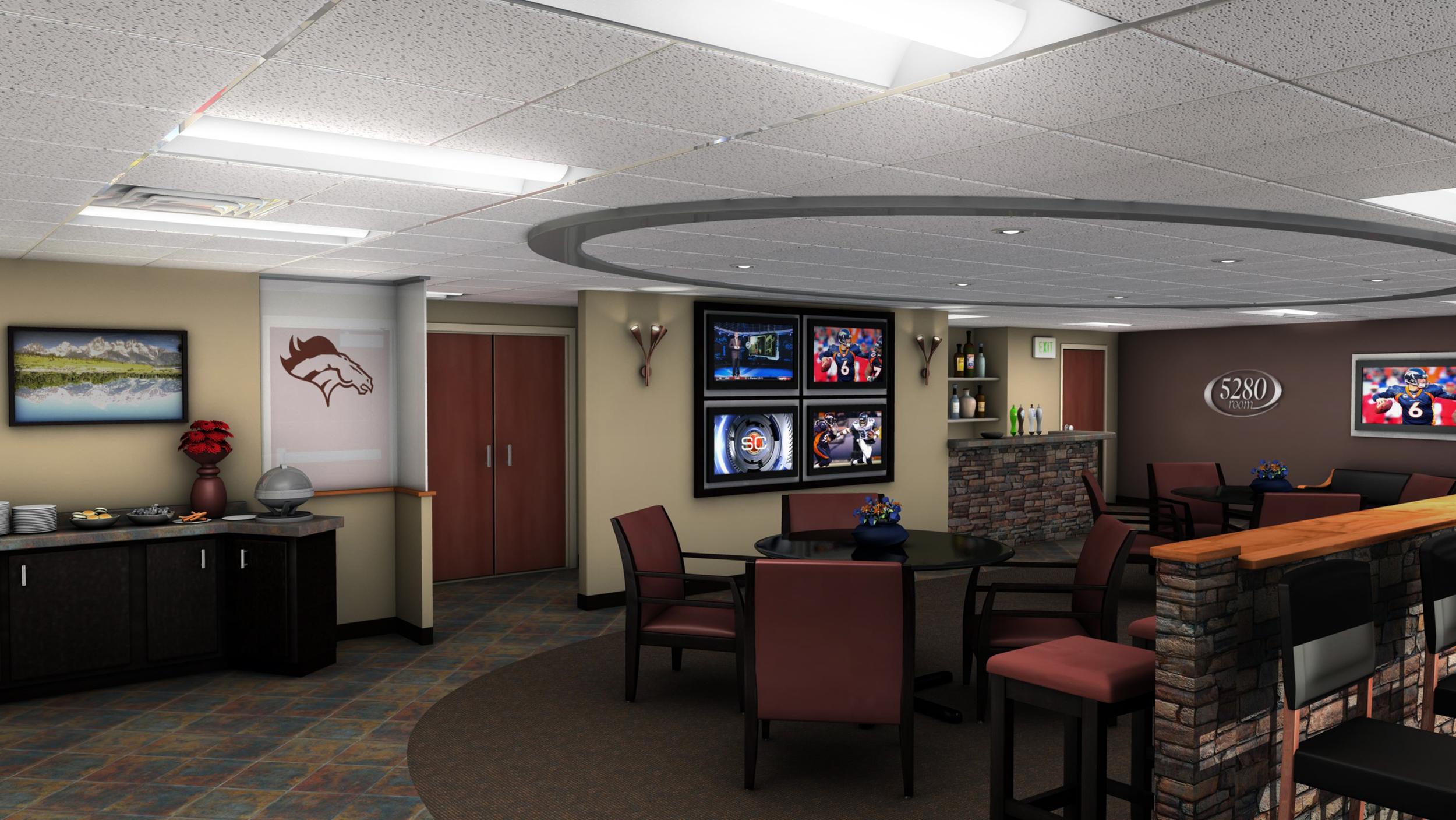 5280 Invesco Field Club Level Suite