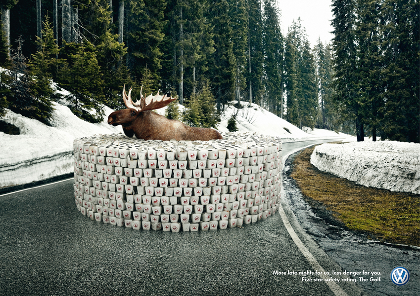 "Volkswagen Safety - ""Moose"""