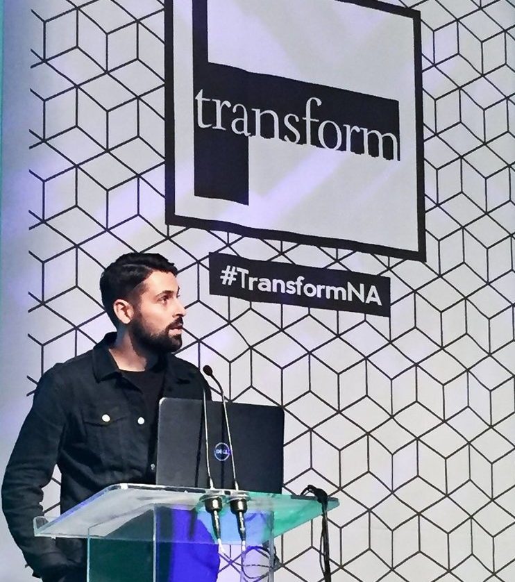 Transform North America - In November 2017, I was invited to speak at the Transform Conference North America on Brand Building * Generation Z.