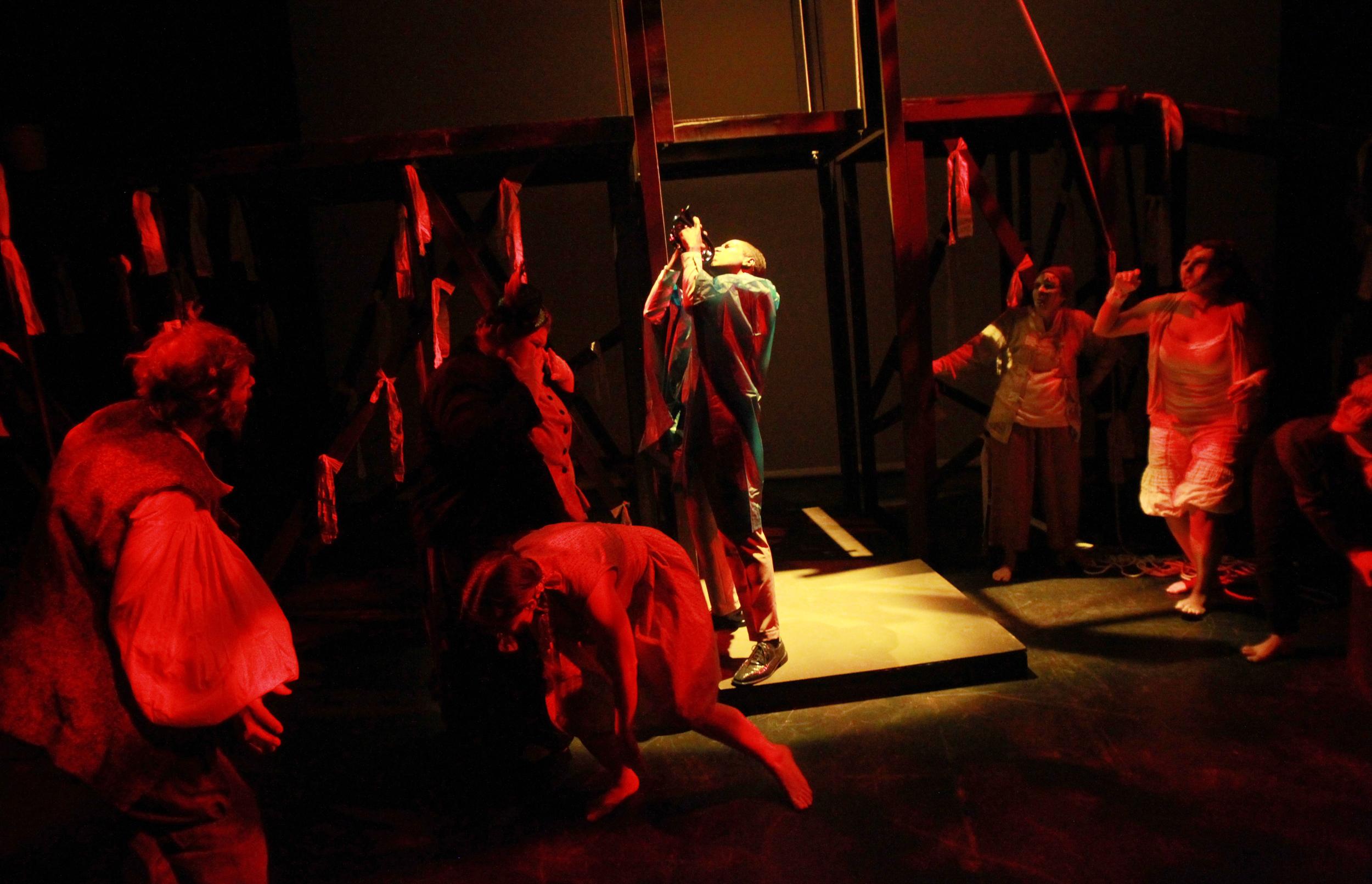 "Wanderlust Theater - ""Eurydice"". Photo by Leslie Allyn Westbrook, 2014"