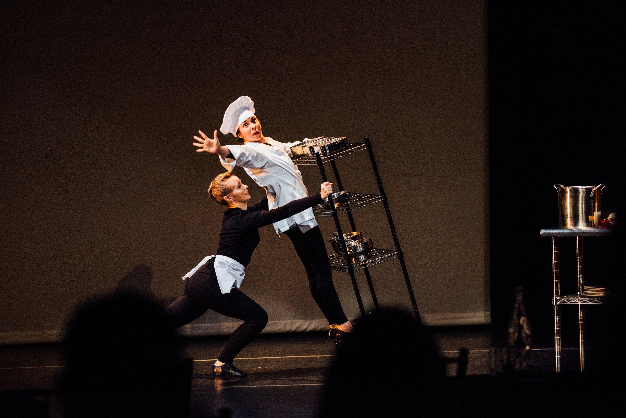 Hangry- Choreographer: Gina Hanchey - Part of STIR (2017) - photo credit Joe Vidrine