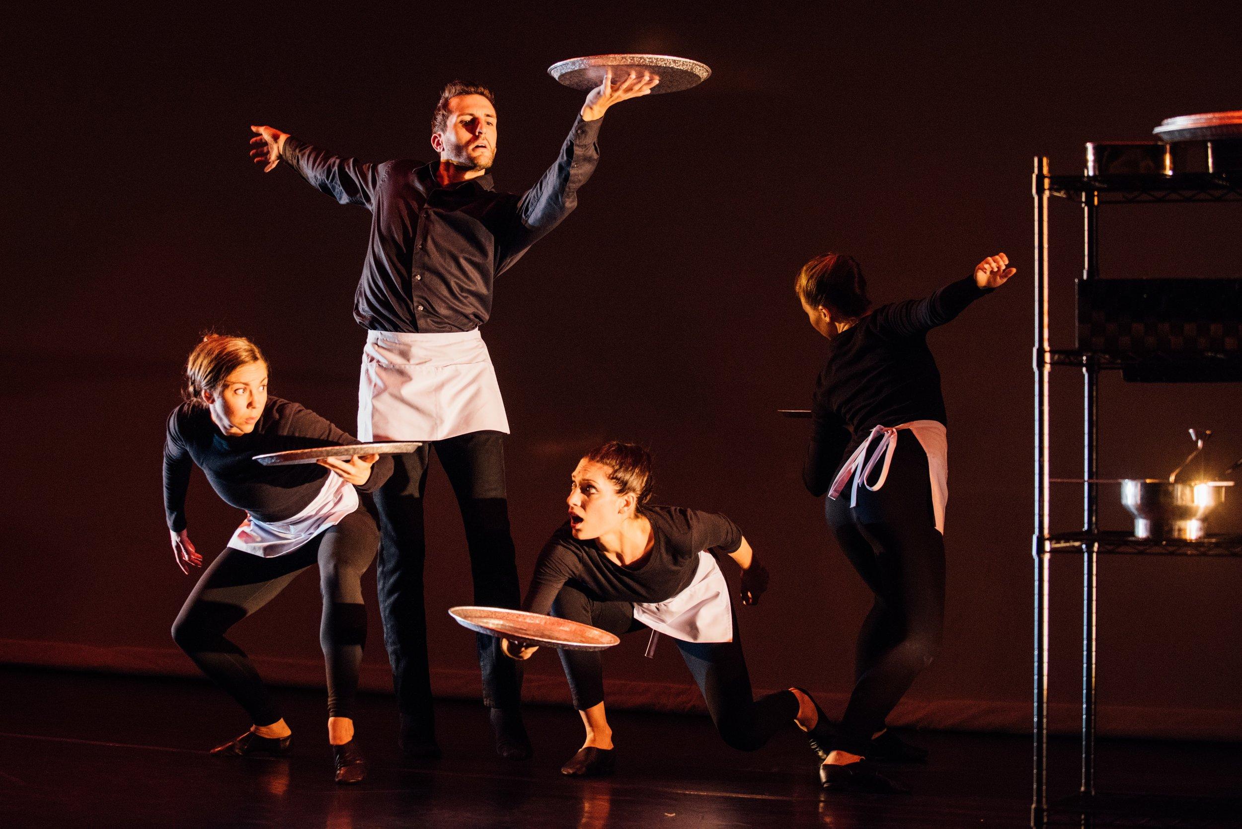 Hangry- Choreographer: Gina Hanchey - Part of STIR (2017) - photo credit Denny Culbert