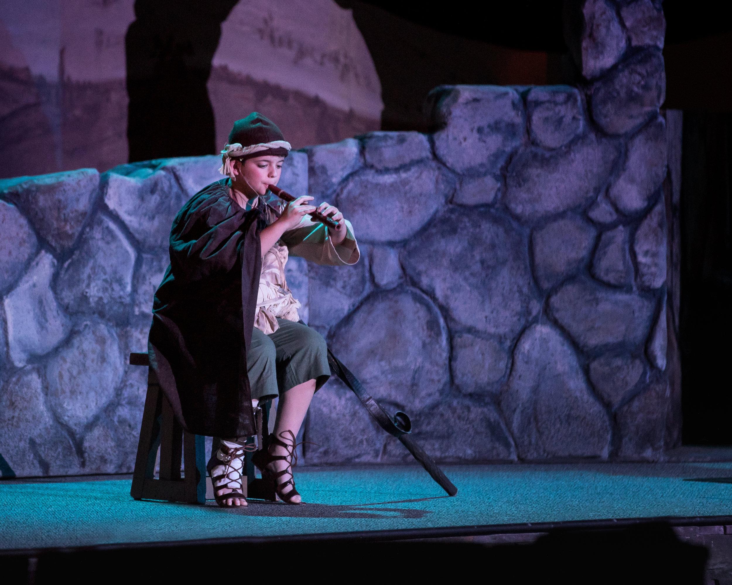 Amahl and the Night Visitor- 2017 - Opera Louisiane - Baton Rouge, LA - Photo by Rick LeCompte