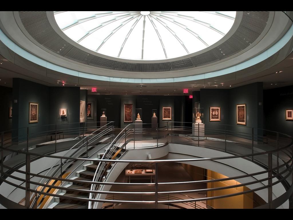 Rubin Museum of Art, NYC - photo by Joshua Lutz