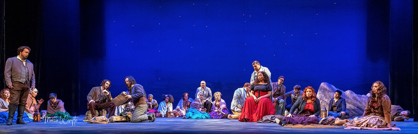 Carmen - Opera Louisiane (2019) - Photo by Marcia LeCompte