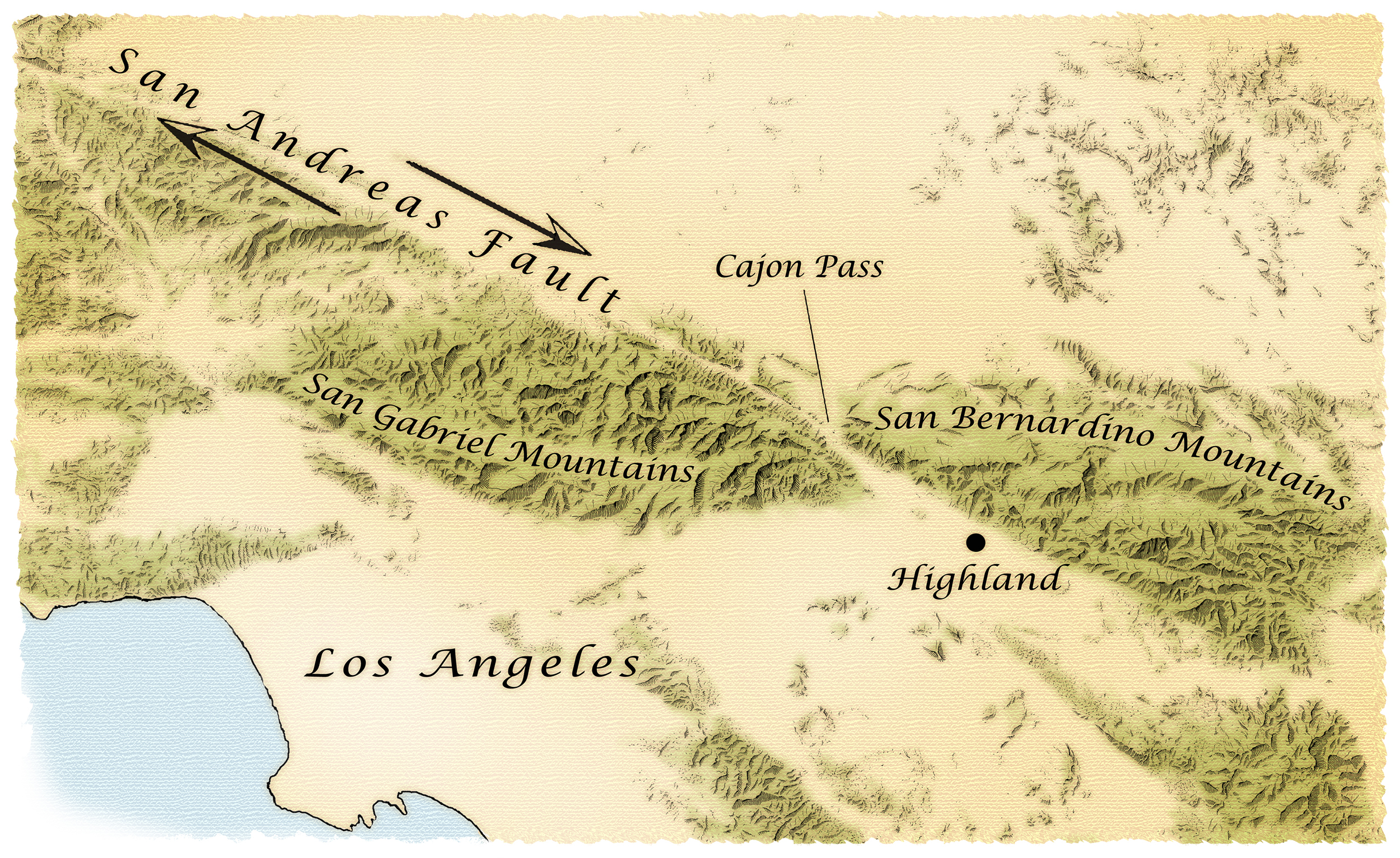The Acorn Group  San Andreas Fault