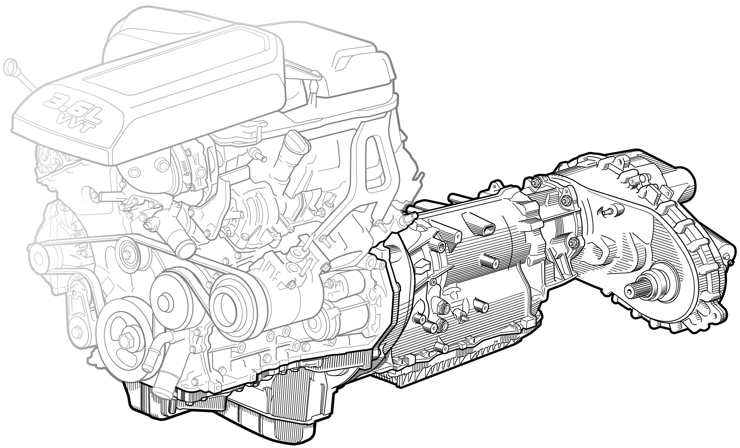 Popular Mechanics  Dodge Ram Transmission