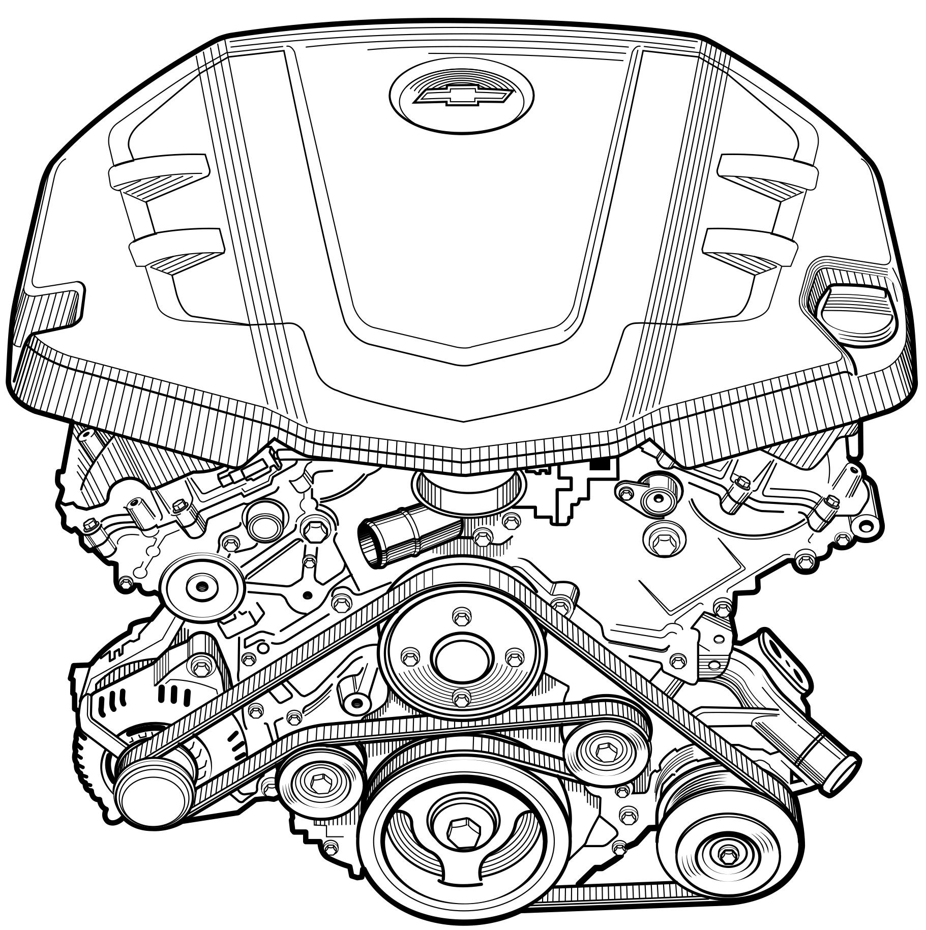 Popular Mechanics  Camaro Engine